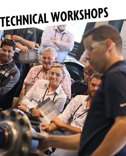 Technical Workshops at TMC2018